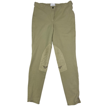 Tuffrider Pull On Breeches in Tan.