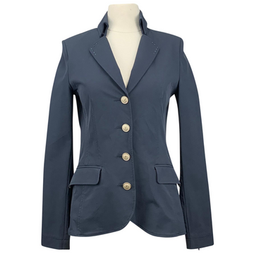 Fior Da Liso Allegra Jacket in Navy