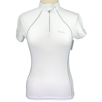 Equiline Competition Shirt in White