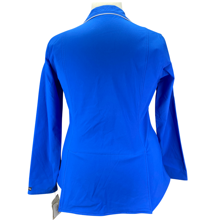 Back of Kerrits Competitors Koat Show Coat Jacket in Blue - Women's XL
