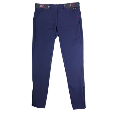 B Vertigo Xandra BVX Breeches in Navy/Pink - Women's 32