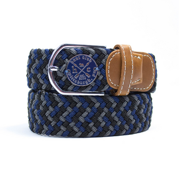 Hunt Club 'The Derby Belt' Limited Edition in Inside Turn/Navy Emblem