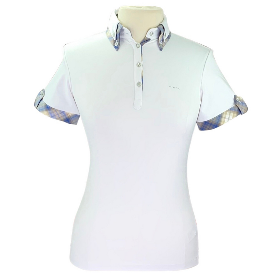 Animo BILLA Short Sleeve Polo in White