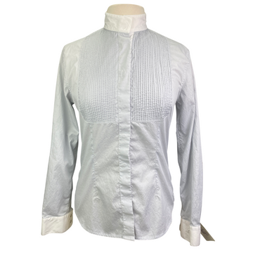 Alessandro Albanese Deauville Competition Shirt in Fog/White - Women's Large