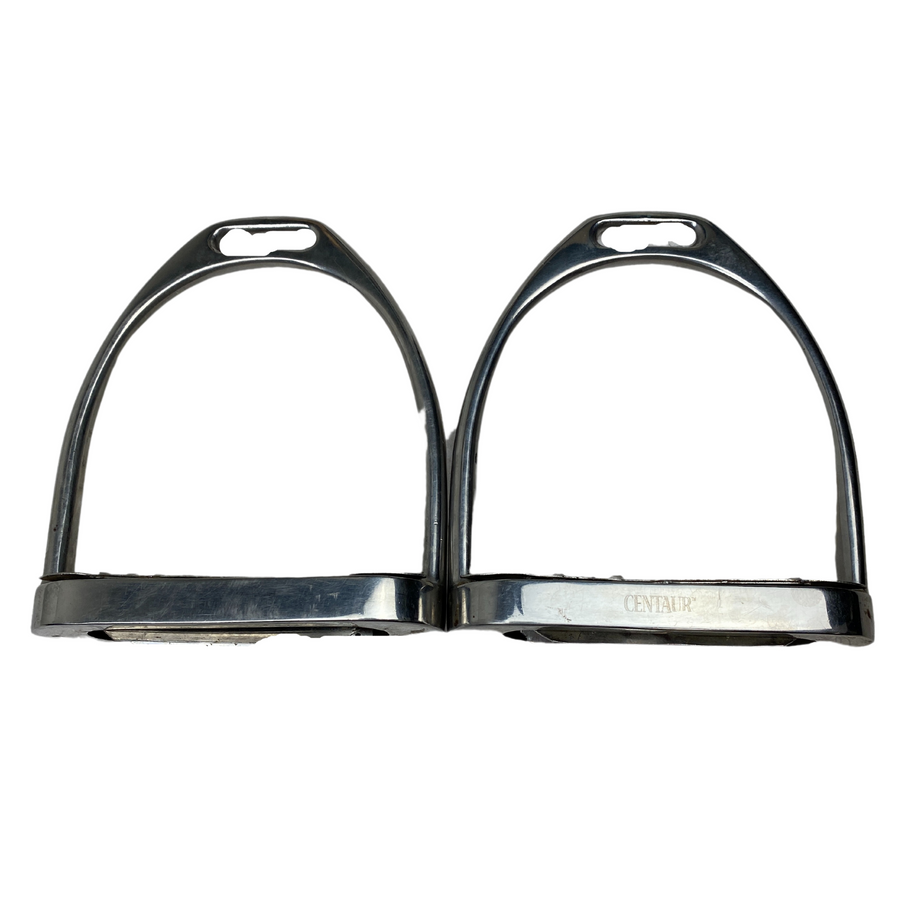 Centaur Fillis Stirrup Irons in Stainless Steel
