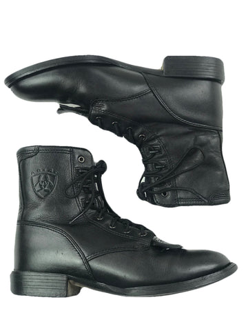 Ariat Heritage Lacer Boot in Black - Women's US 6.5 B