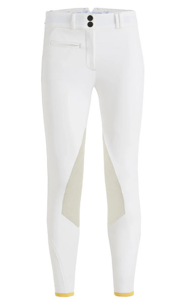CALLIDAE The C Breeches in White - Women's 32