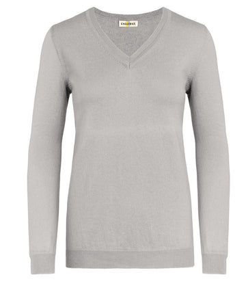Callidae V-Neck Sweater in Aldgate