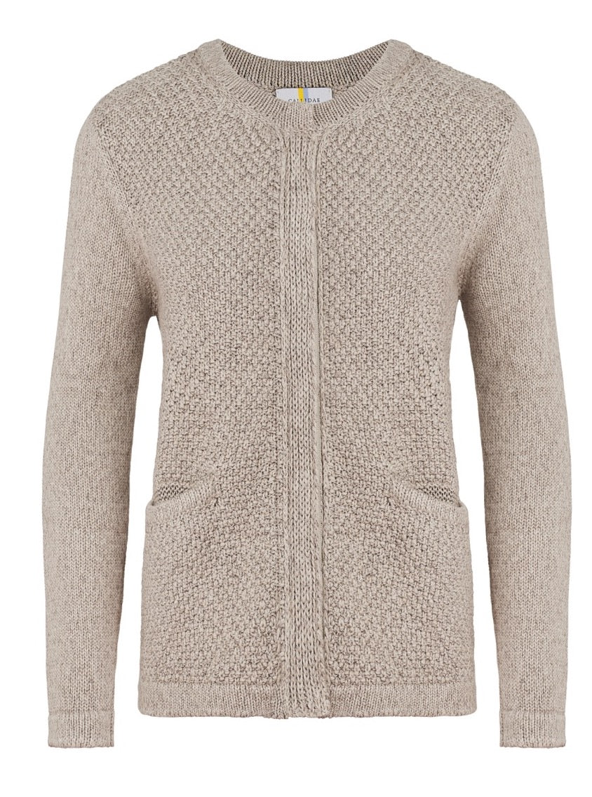 Callidae The Sweater Jacket in Briarwood