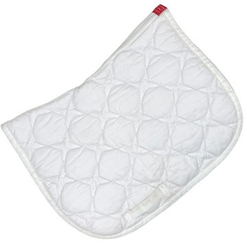 Animo Saddle Pad in White