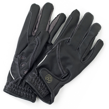 Ovation Tek-Flex Rider Glove in Black/Steel Grey