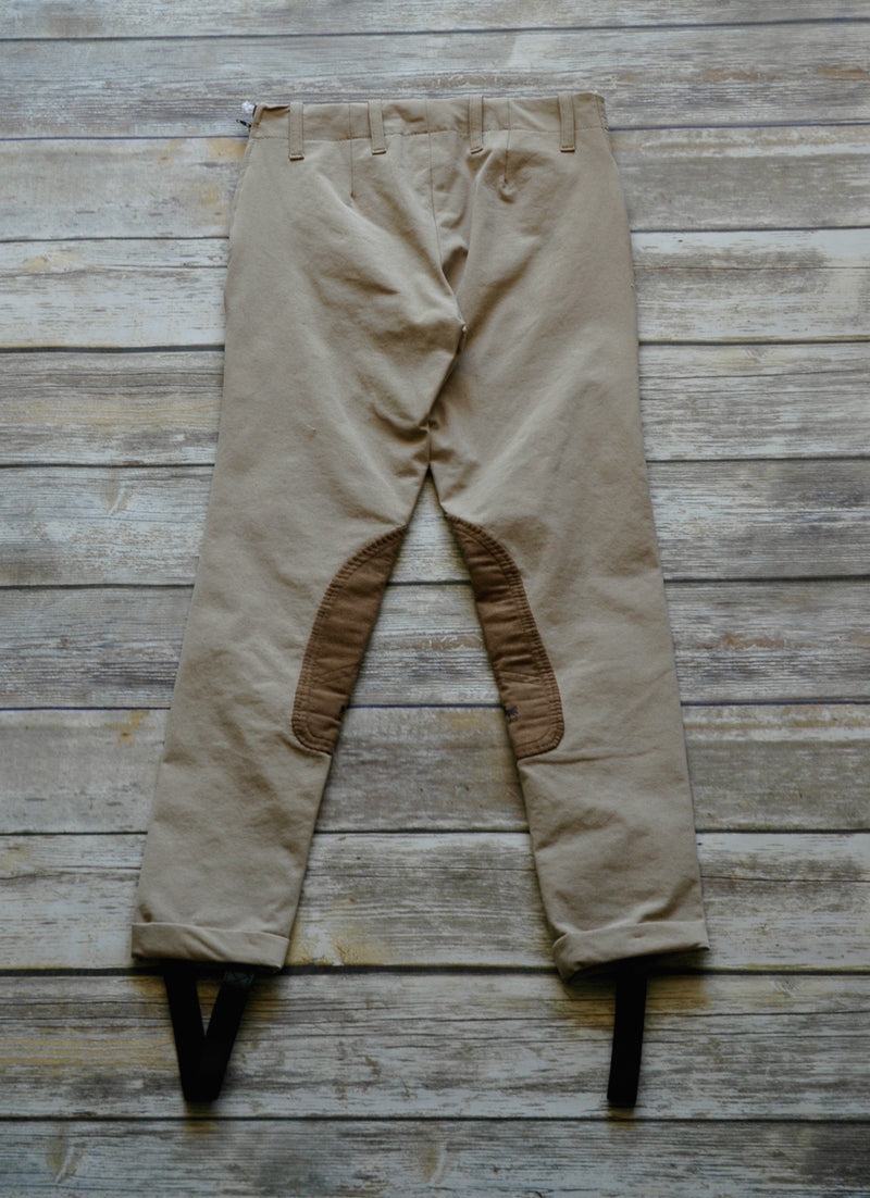 Equine Couture Tan Jods - Children's 12