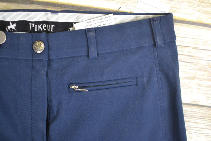 Pikeur Lugana Full Seat Breeches in Navy - Women's 28R