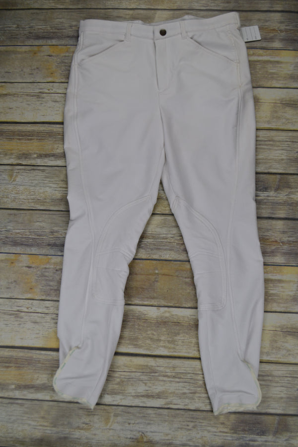 Manfredi Breech in White - Men's 44L
