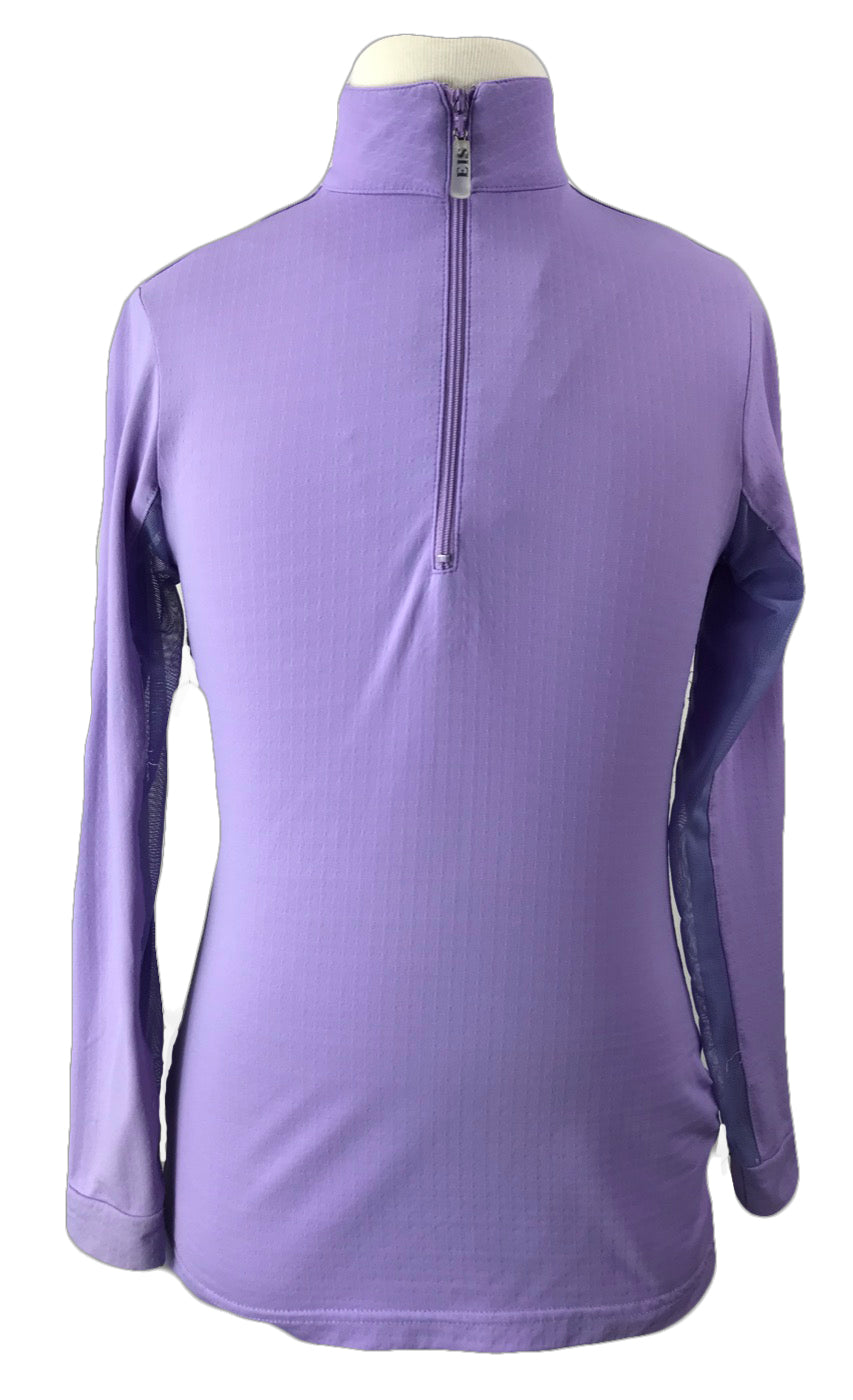 front view of EIS Cool Shirt in Lavender - Youth
