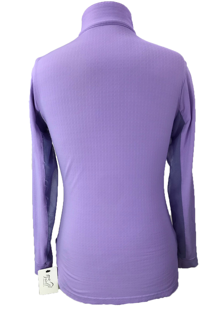 back view of EIS Cool Shirt in Lavender - Youth