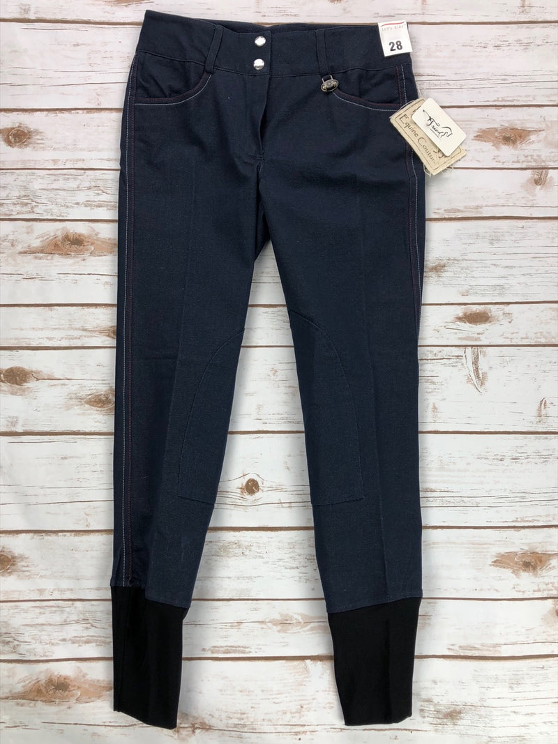 Equine Couture Regatta Jean Breeches in Denim - Women's 28R