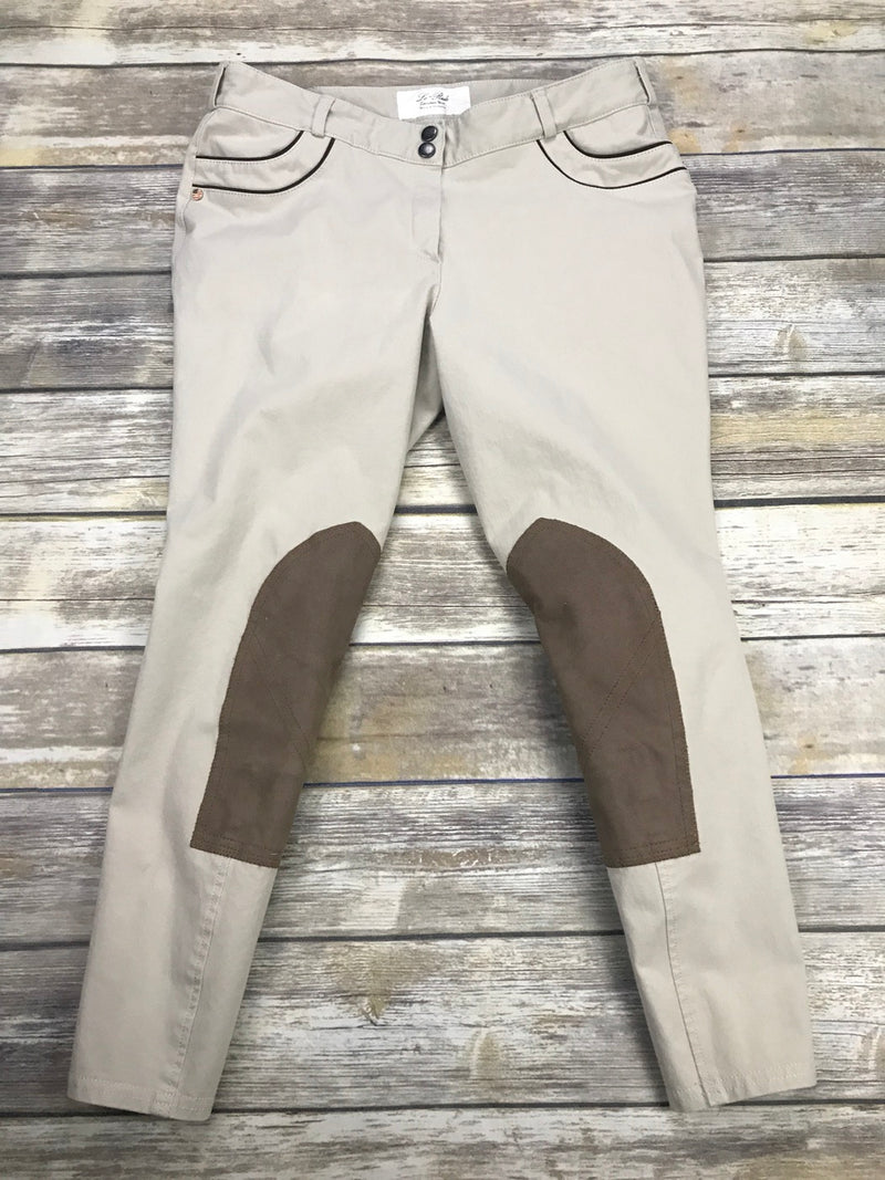 Lo Ride Breeches in Tan - Women's 32R
