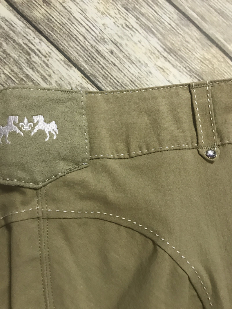 Equine Couture Blakely Breeches in Safari - Women's 34