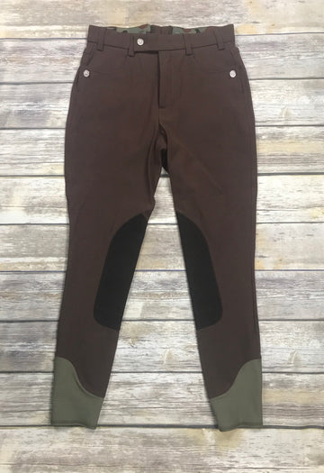 Michael and Kenzie 1911 Jaeger Breech in Brown - Men's 29