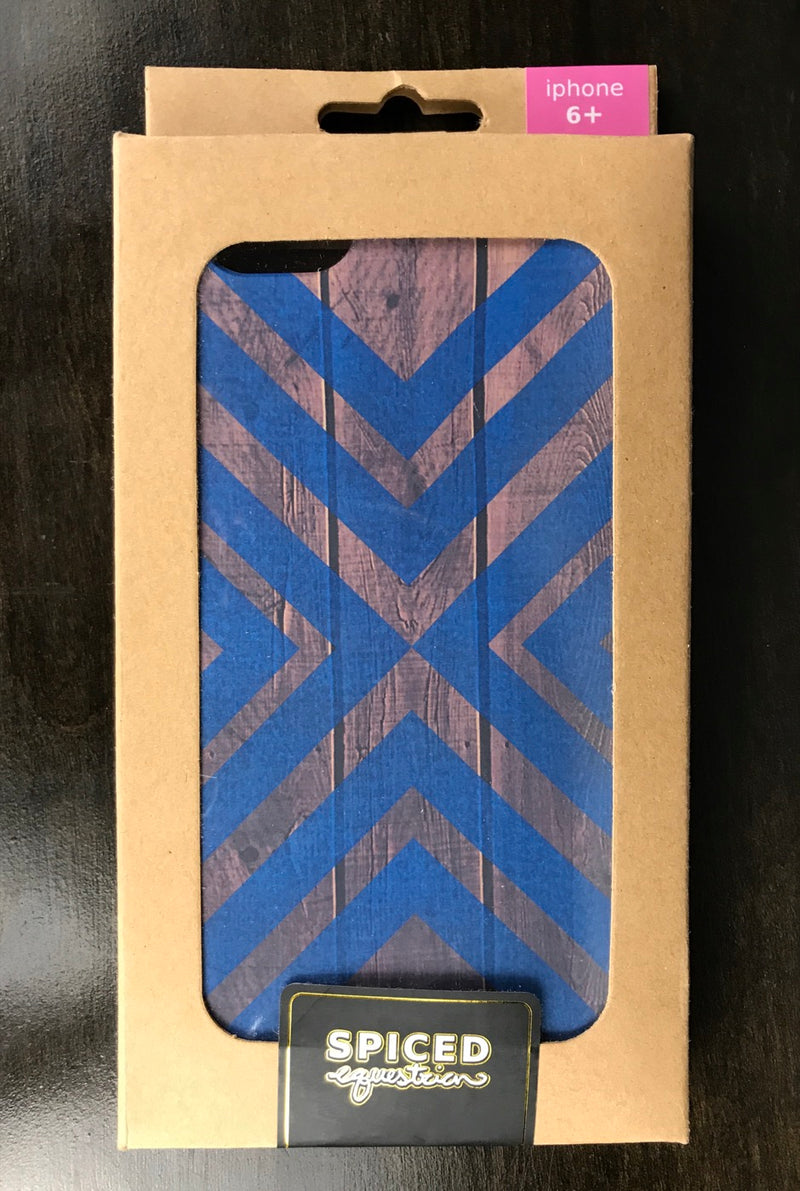 Spiced Equestrian Phone Case in Blueberry Accent - iPhone 6+