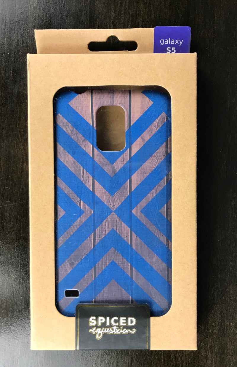 Spiced Equestrian Phone Case in Blueberry Accent - Galaxy S5