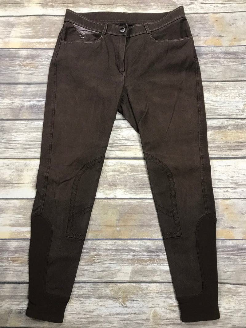 Eurostar Ruby Knee SK Breeches in Brown - Womens EUR 40/US 28