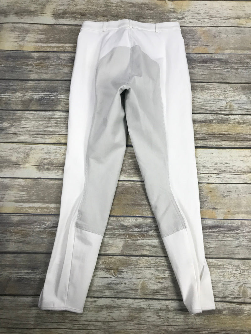 Pikeur Lugana Full Seat Breeches in White - Women's 28