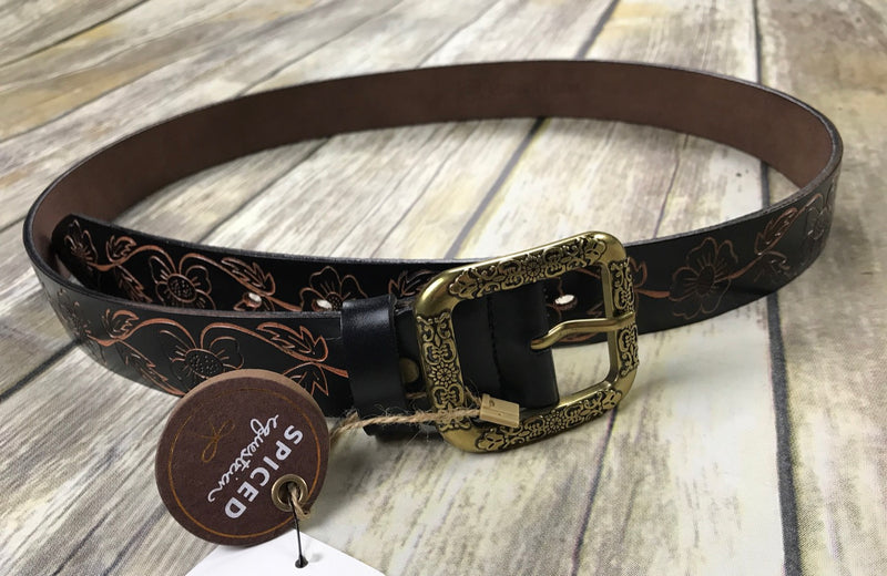 Spiced Equestrian Journey Belt in Ember - Women's Small