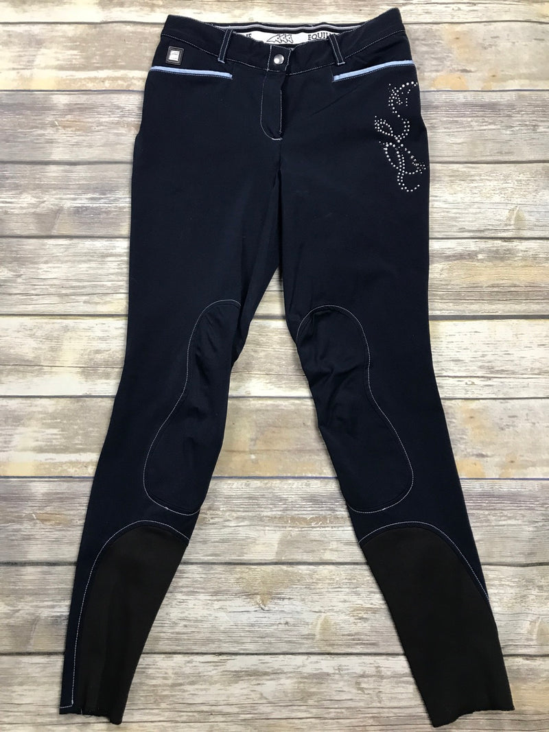 Equiline Santa Cruz Breeches in Navy - Approx. IT 46
