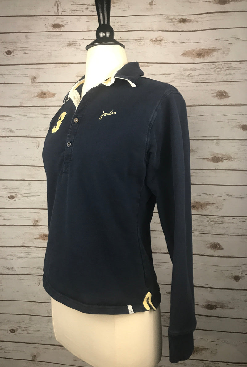 Joules Polo Sweatshirt in Navy - Women's US 6/Small