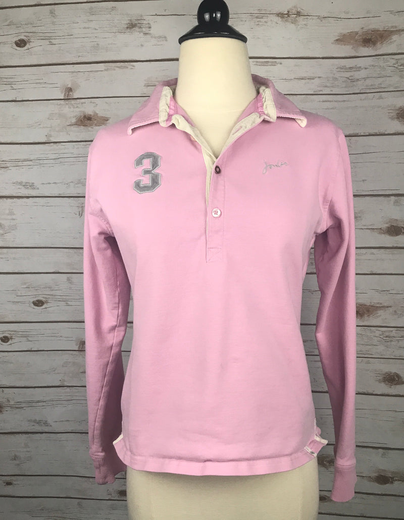 Joules Polo Sweatshirt in Pink - Women's 6