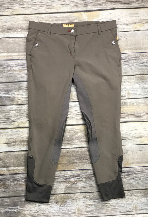 Devon-Aire Signature Full Seat Breeches in Taupe - Women's 32