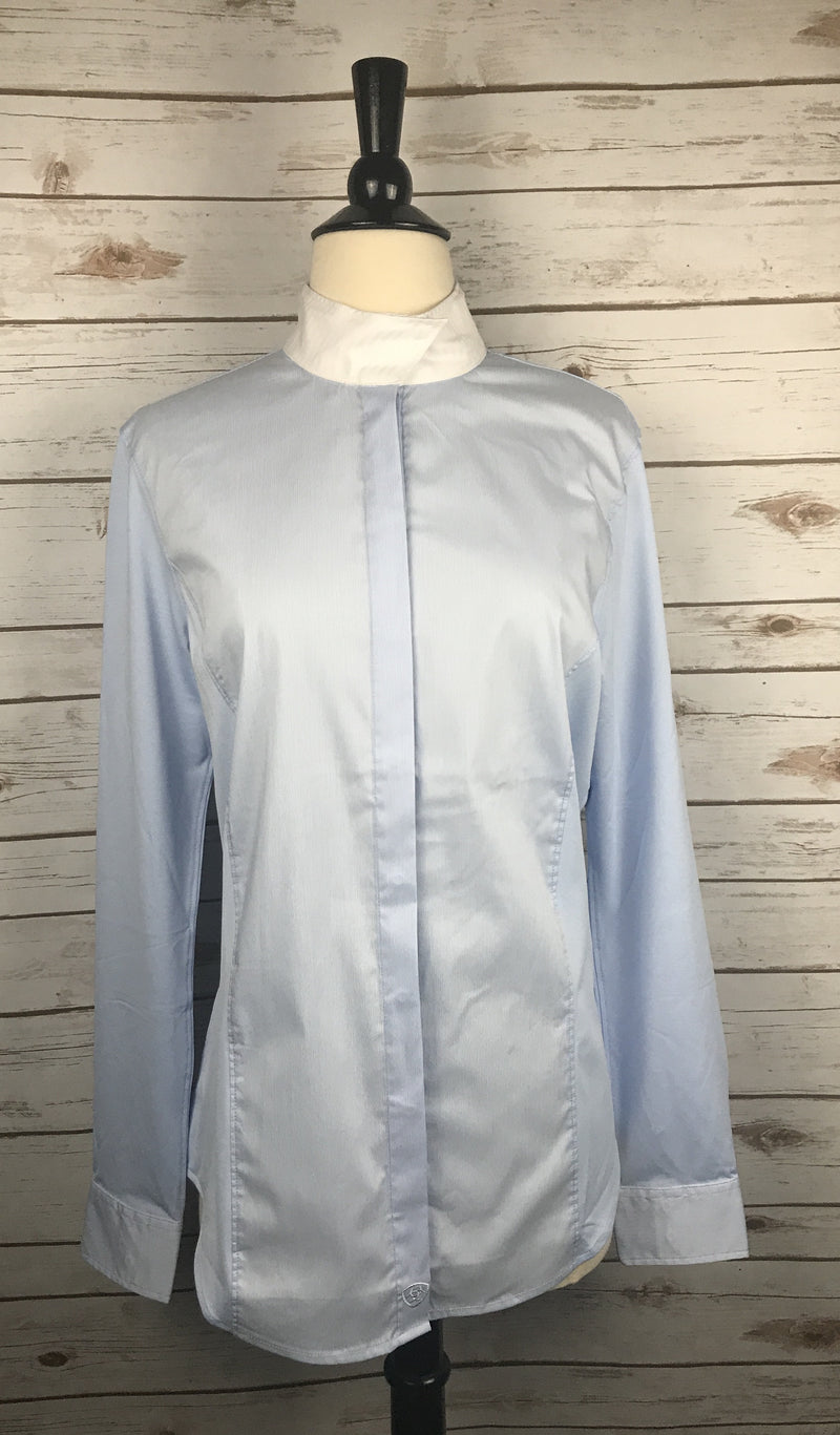 Ariat Triumph Long Sleeve Show Shirt in Blue - Women's 36