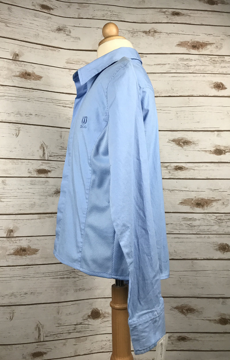 Tagg Long Sleeve Show Shirt in Blue - Children's Large