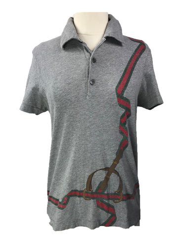 Gucci Polo in Grey - Women's S