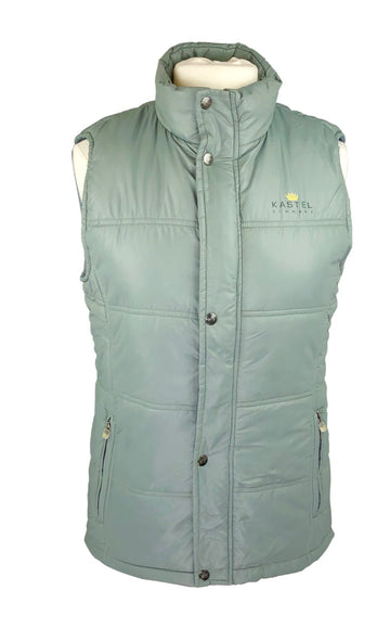 front view of Kastel Christine Vest in Grey Green
