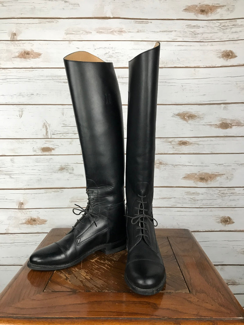 Effingham by Bond Boot Co. Tall Boots in Black - Women's 6.5
