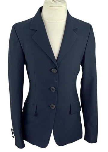 front view of RJ Classics Washable Hunt Coat in Navy