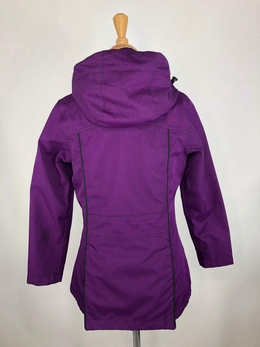 Kerrits Barn Jacket in Purple -  Back View