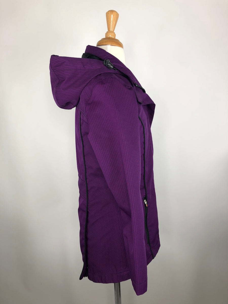 Kerrits Barn Jacket in Purple -  Right Side View