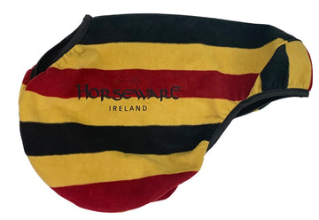 Horseware Ireland Rambo Deluxe Saddle Cover in Yellow/Red/Black