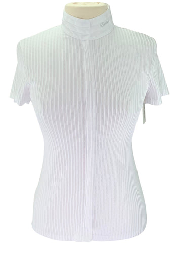 Equiline Cecil Showshirt in White