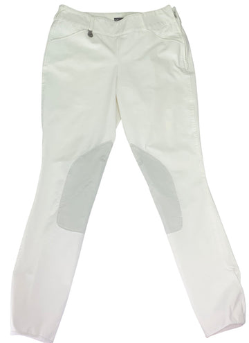 Pikeur Side Zip Breeches in White