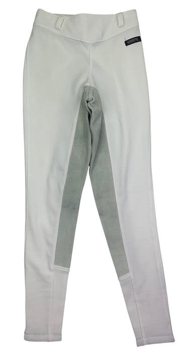 Kerrits Microcord Full Seat Breeches in White