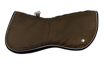 Ogilvy Memory Foam Half Pad in Brown