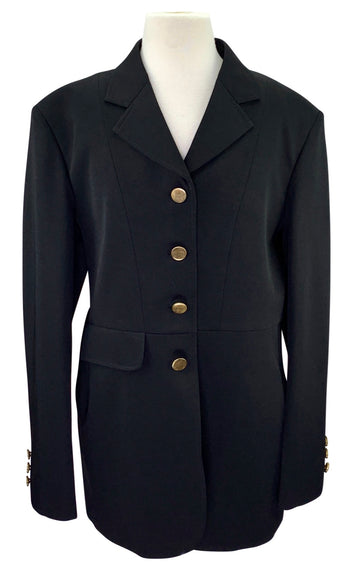 Ovation Performance Competition Coat in Black