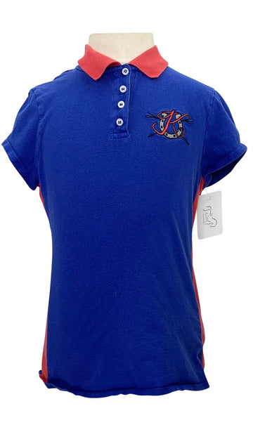 Kaki by Kathryn Hall Polo in Blue