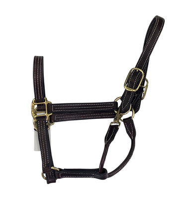 Perri's Leather Halter in Havana