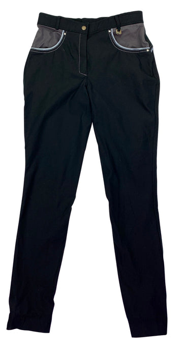 Sheldon Breeches in Black